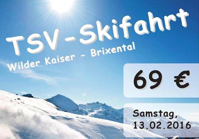 Bild von Anmeldung TSV Burgheim Skifahrt