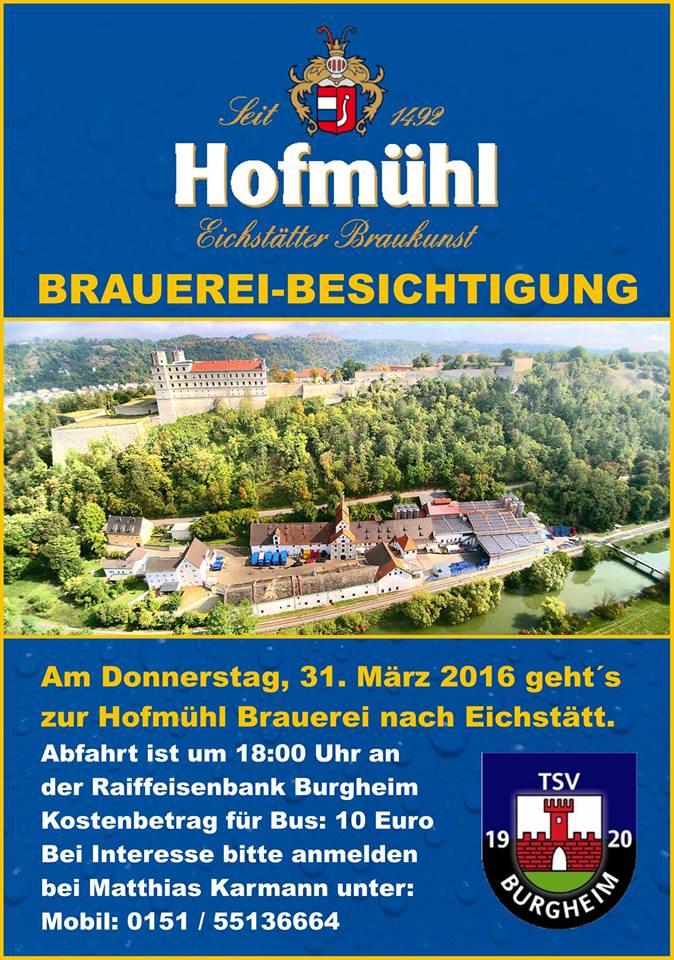 Photo of Brauerreibesichtigung Hofmühl in Eichstätt