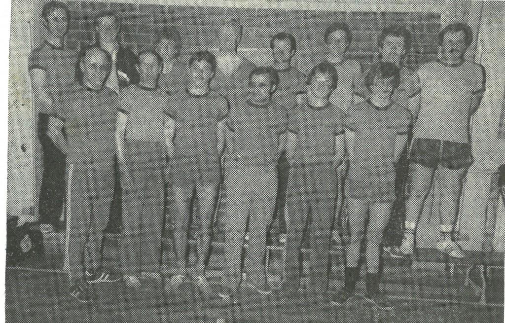 Bild von DAMALS: Den Meistertitel der Tischtennis-Mannschaft