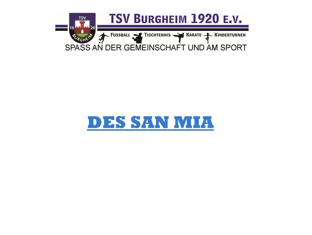 Photo of Präsentation des Vereins 2016 – Infoabend