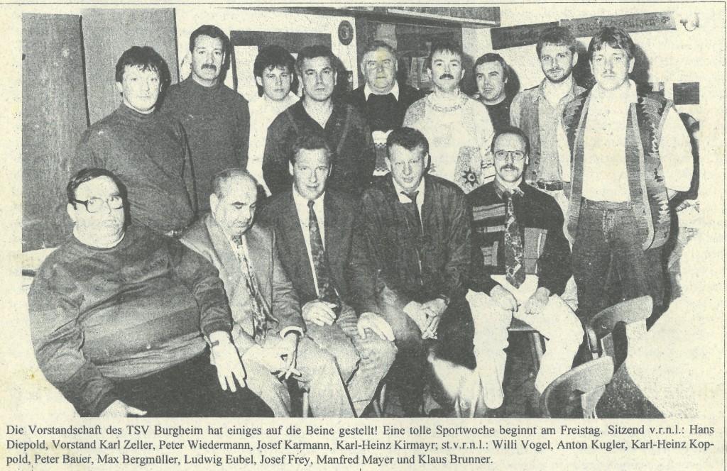 Bild von DAMALS: 75 Jahre TSV Burgheim