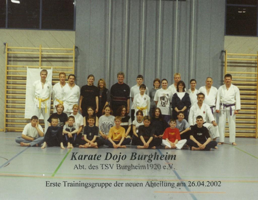 Karate Dojo 26.04.2002