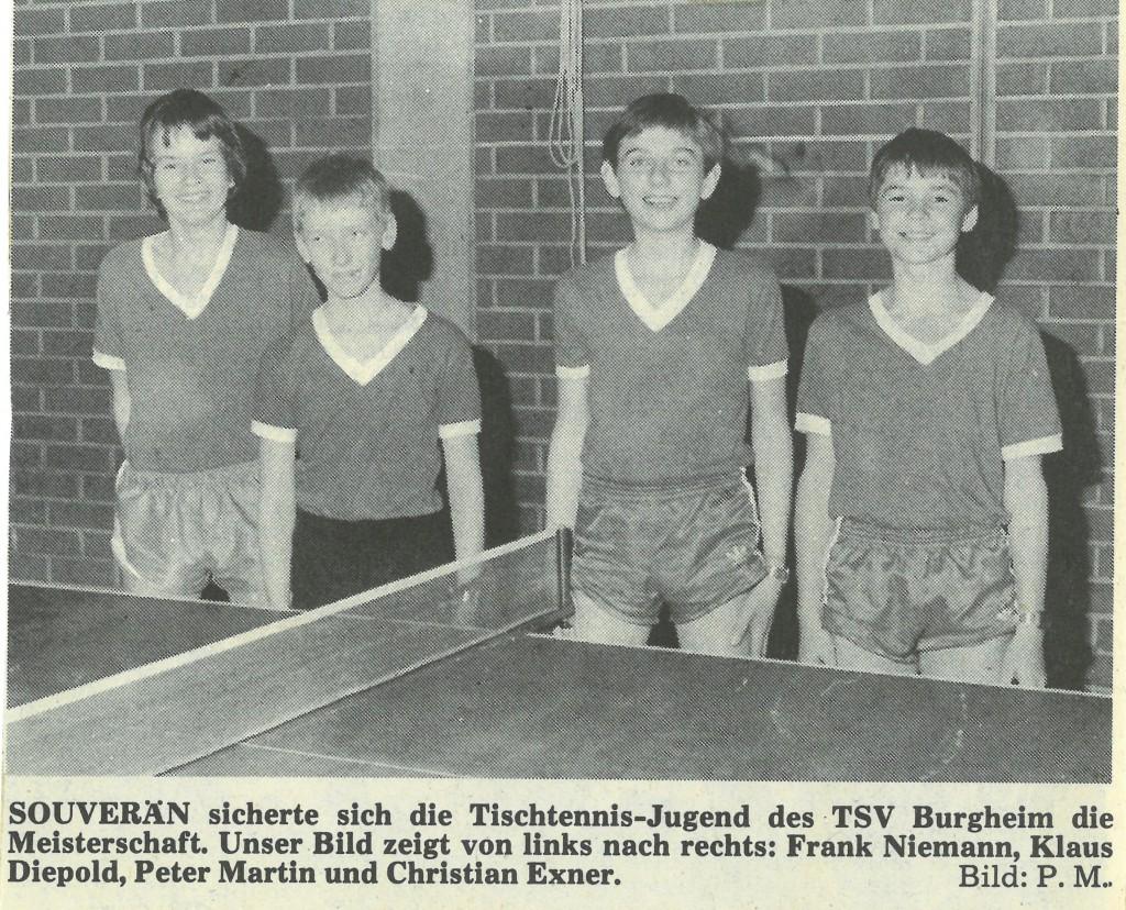 Photo of DAMALS: Jugend gewinnt Eckhardt-Pokal