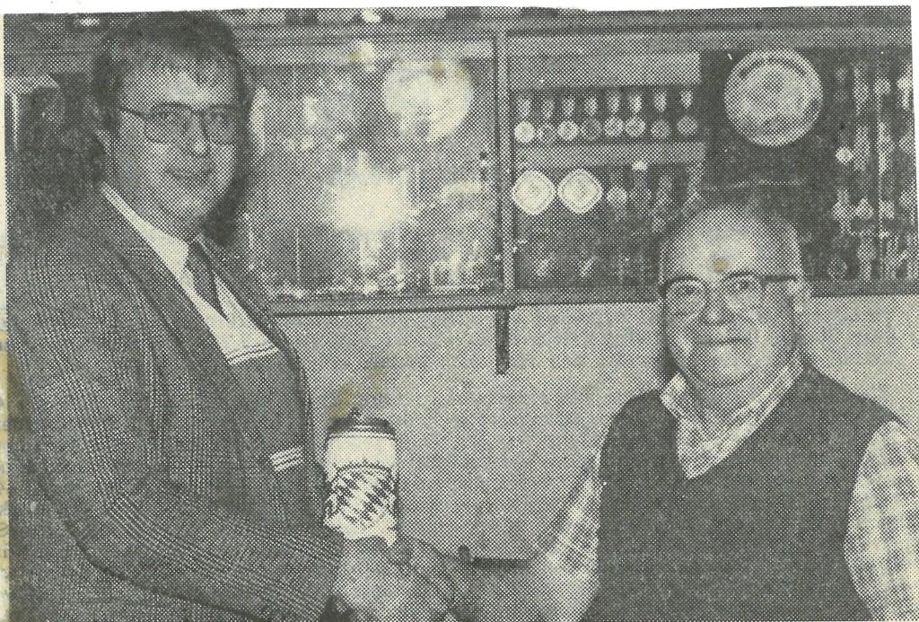 Bild von DAMALS: TSV Burgheim gratuliert Max Seidl zum 65. Geburtstag
