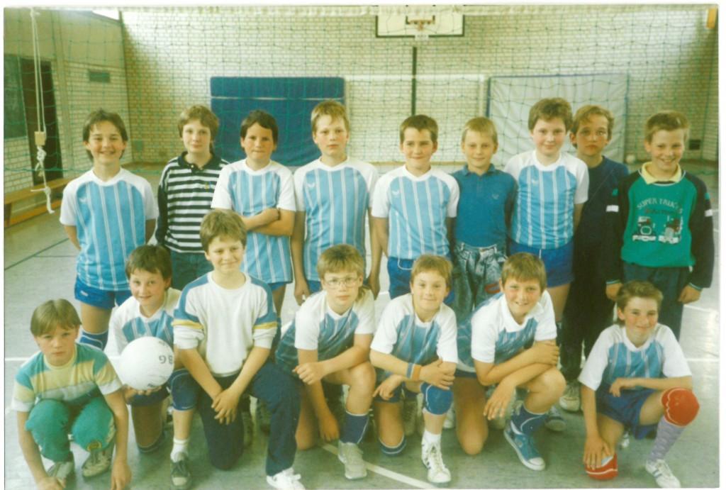 Bild von DAMALS: Zartes Pflänzchen beim TSV: Volleyball