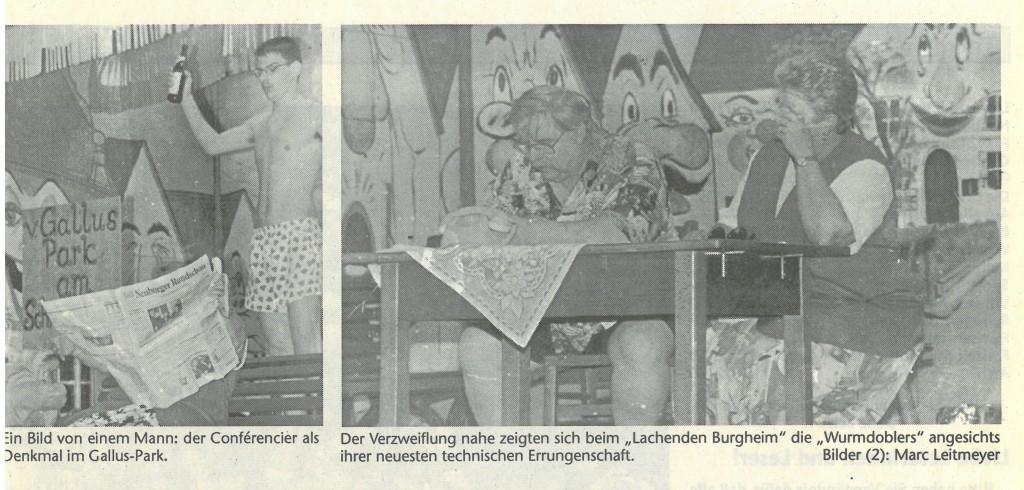Bild von DAMALS: Burgheim spielt Nockherberg