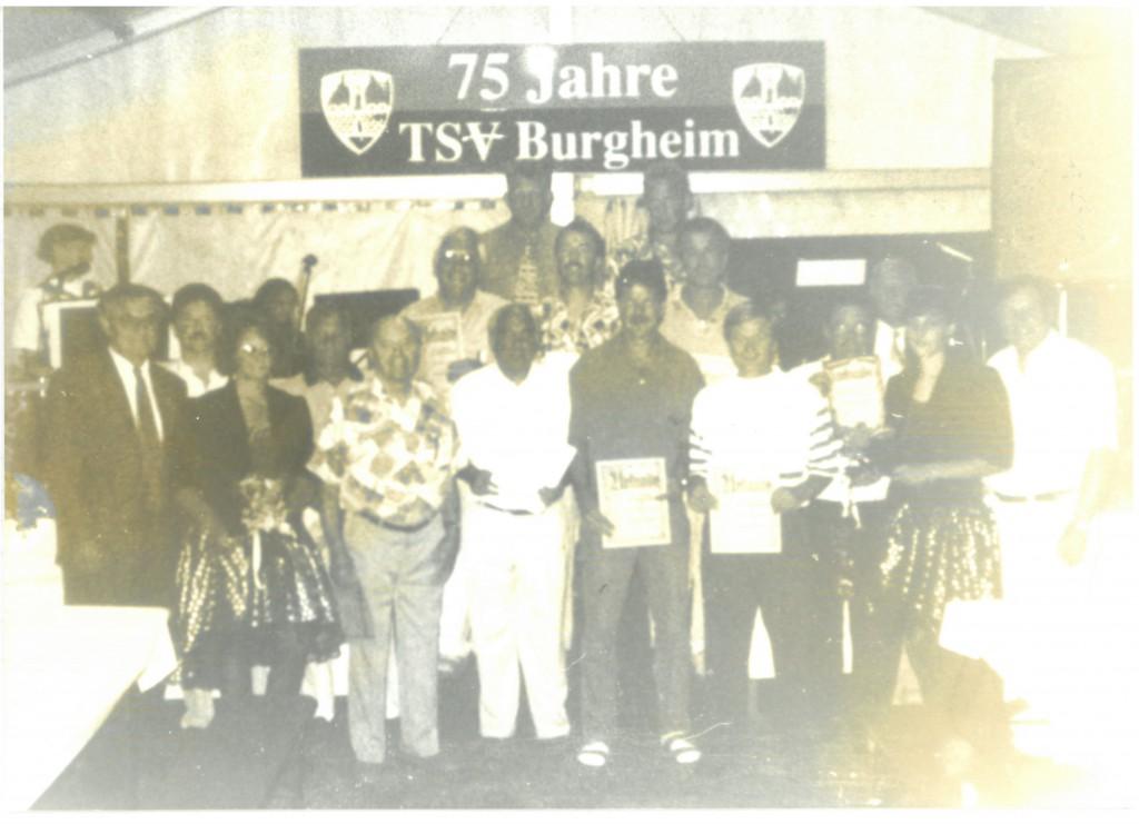 Bild von DAMALS: Burgheim: zehn tolle Tage zum 75. Geburtstag