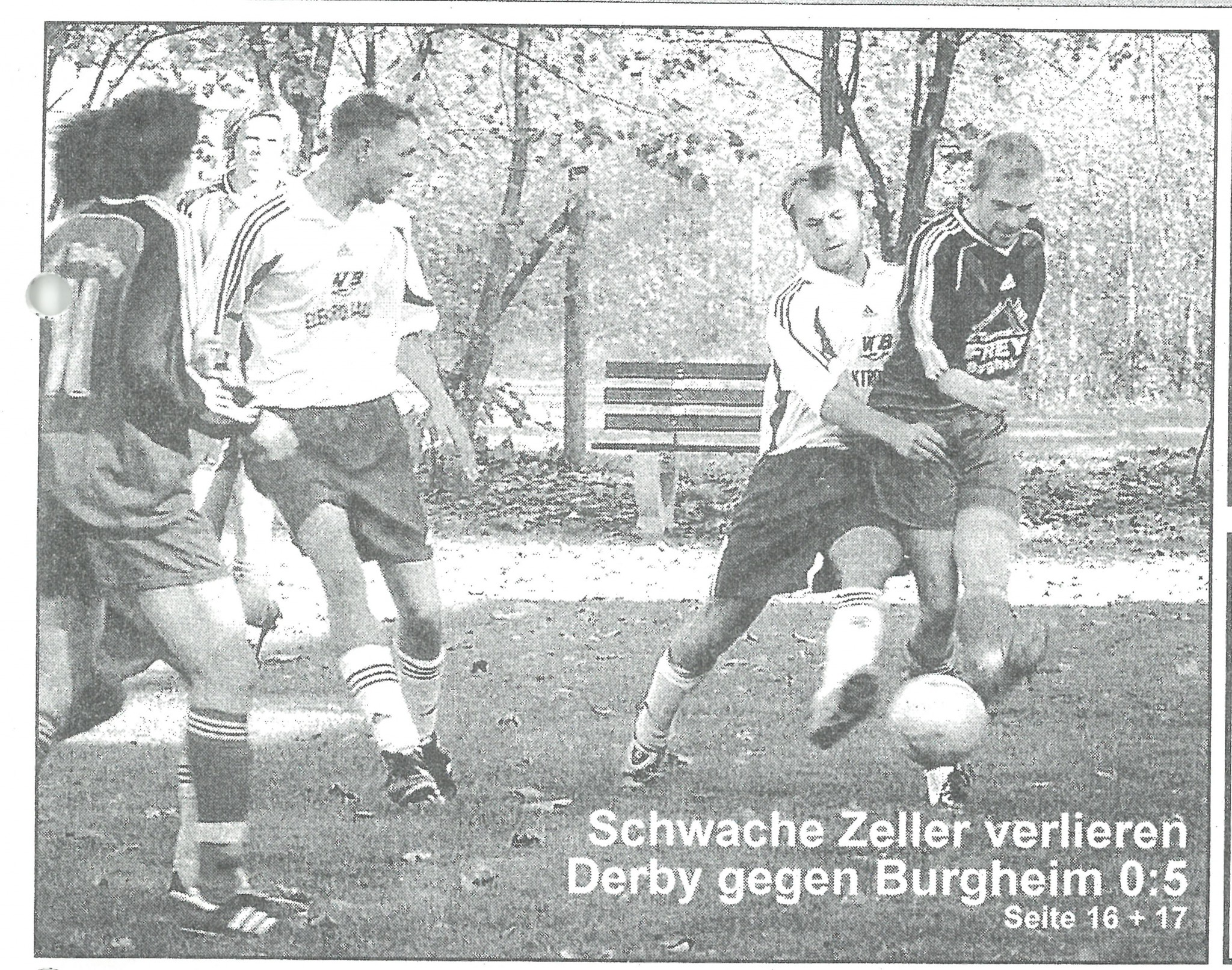 Photo of DAMALS: Burgheim triumphiert 5:0 beim Derby in Zell