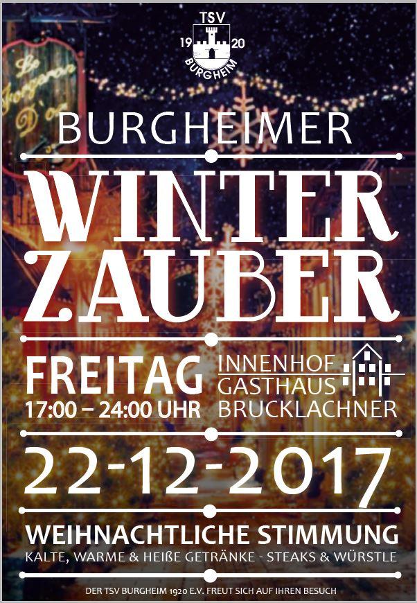 Bild von Burgheimer Winterzauber am 22.12.2017