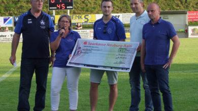 Bild von Burgheimer Vereine spenden für Elisa e.V. – Verein zur Familiennachsorge